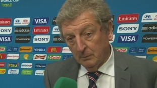 Roy Hodgson said the team was devastated by their World Cup defeat against Uruguay.
