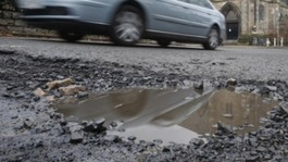 Millions to be spent on filling region's potholes