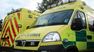 West Midlands Ambulance Service attended the scene