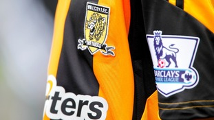 "The club's old badge featuring ""Hull City A.F.C."""