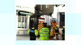 Fire at Exeter pub