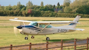 The light aircraft travelled over three and half thousand kilometres to set a new world record