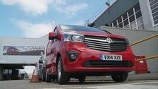 The new Vauxhall Vivaro.