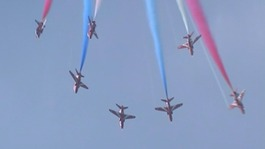 Red Arrows to celebrate 50th anniversary this year