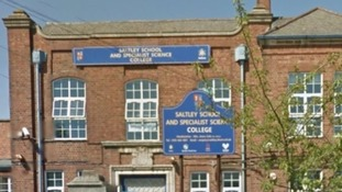 Saltley School and Specialist Science College in Birmingham.