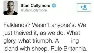 Stan Collymore tweeted the comment last month.