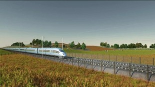 HS2 train - company video