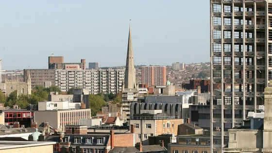 Bristol City skyline