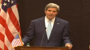 John Kerry, speaking in Cairo, said Isis ideology is a threat not only to Iraq, but to us all.