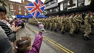 This Saturday's Armed Forces Day will be the sixth annual celebration of its type.