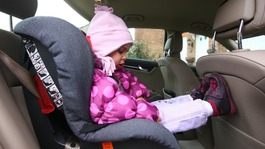80% put child's life at risk 'with poorly fitted car seat'