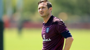Frank Lampard is in line to captain England against Costa Rica.