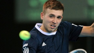 Birmingham born Dan Evans - British number two
