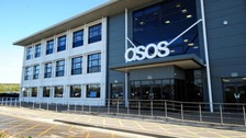 The Asos distribution centre in Barnsley was damaged in a fire on Friday.