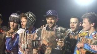 Mildenhall Fen Tigers speedway riders
