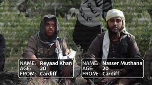 Screengrab of Isis 'recruitment' video on YouTube.