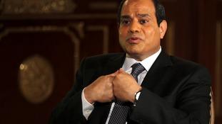 New Egyptian President Abdel Fattah al-Sisi.