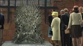 Queen visits Game of Thrones set in Belfast