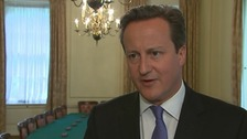 Prime Minister David Cameron offered a 'full and frank apology' for employing Andy Coulson.