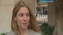 Actress Sienna Miller spoke exclusively to ITV News.