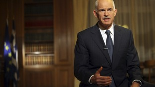 Greece's Prime Minister George Papandreou attempted to steer his country through turbulent times