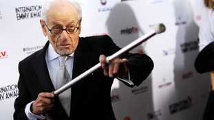 US actor Eli Wallach has been in the movies for six decades.