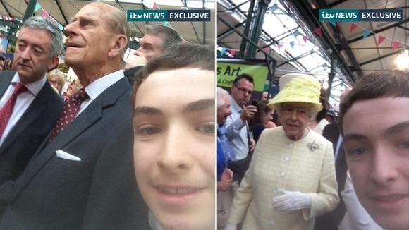 Remaja Bertuah Selfie Dengan Ratu Elizabeth