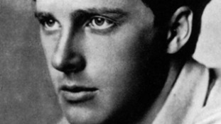 Poet Rupert Brooke remembered 100 years after First World War