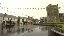 Stranraer prepares for the torch