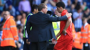 Brendan Rodgers will hope Suarez's likely ban does not extend to club football.