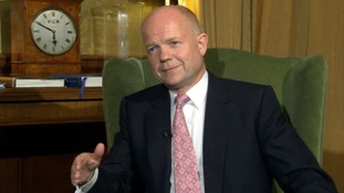 "Foreign Secretary, William Hague says the peace plan has ""clearly failed"""