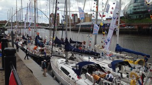 Racing yachts Newcastle