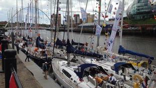Racing yachts Newcastle