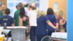 There has been an unexpected rise in people arriving at A&E.