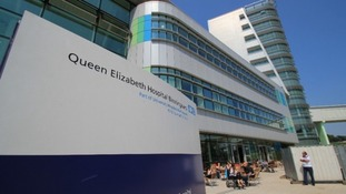 Queen Elizabeth Hospital Birmingham, where Catherine Jones visited the A&E department.