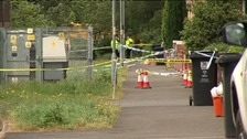 Swindon murder scene