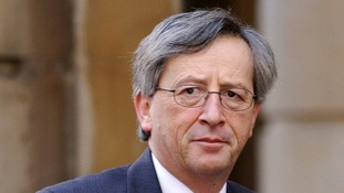 """Luxembourg Prime Minister, Jean-Claude Juncker says the euro is in an """"enormous crisis""""."""