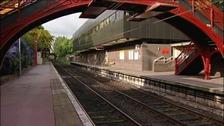 Empty Metro station