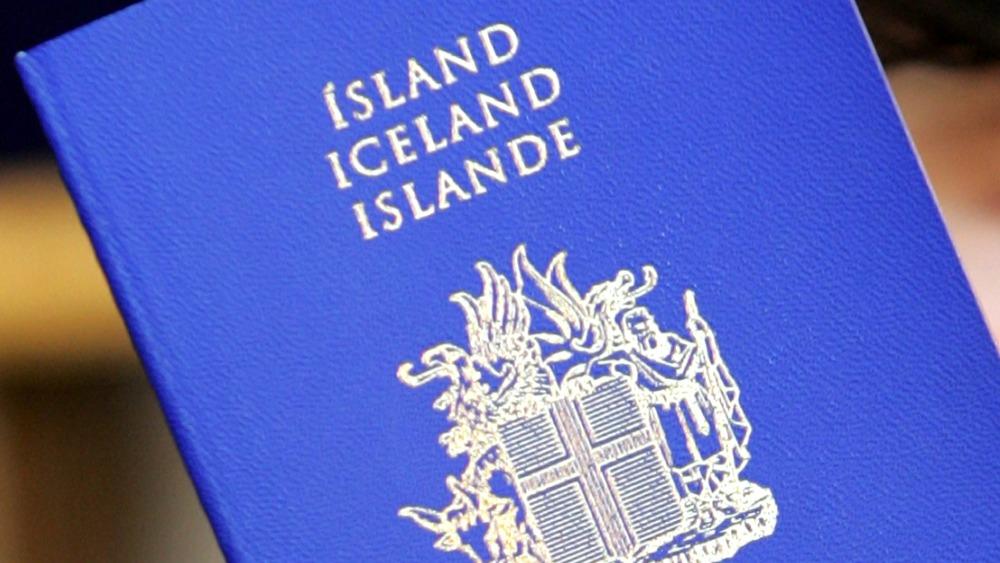 голубой паспорт
