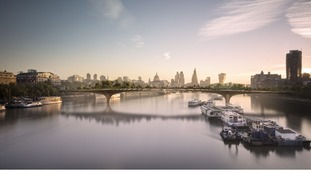 Cycle ban planned for Garden Bridge