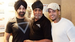 Bhangra stars at protest anniversary film premiere