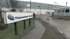 Thamesteel plant on the Isle of Sheppey