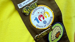 Brownie badge