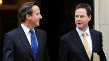 David Cameron and Nick Clegg will appear at Leveson next week.