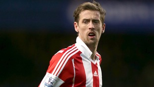 Stoke City footballer Peter Crouch
