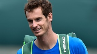 Andy Murray will play South African Kevin Anderson on Centre Court.