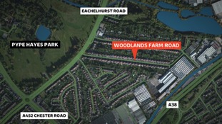 The attacks happened in Woodlands Farm Road, Pype Hayes