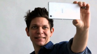 Selfies go hands-free thanks to a Swedish tech start-up.