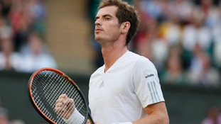 Wimbledon champ Andy Murray.