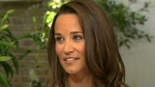 Pippa Middleton has opened up in her first ever TV interview about life as the famous sister of the Duchess of Cambridge.